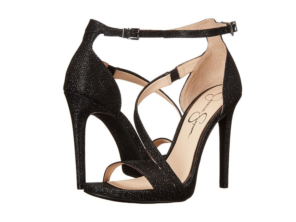 Jessica Simpson - Rayli (Black Jessica Sparkle) High Heels