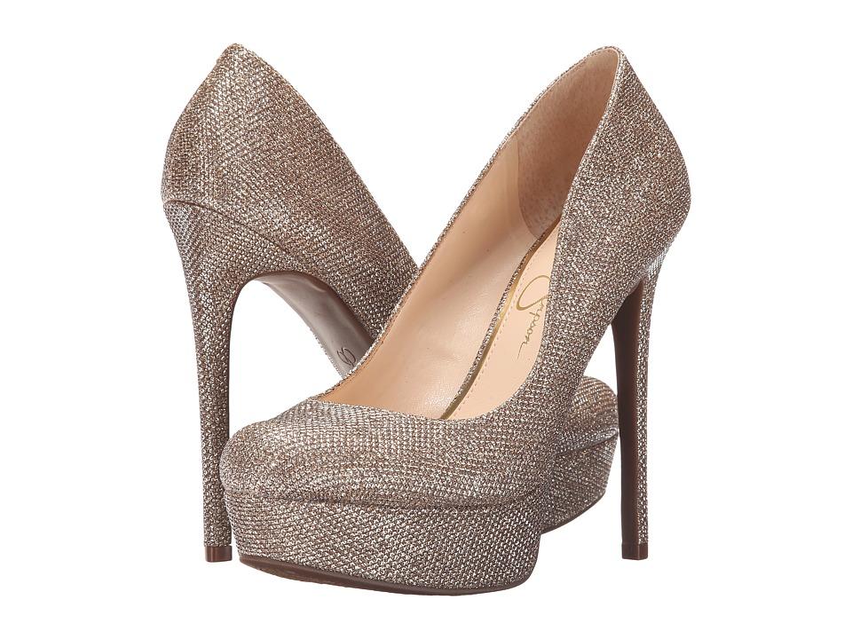 Jessica Simpson - Sandrah (Gold Jessica Sparkle) High Heels