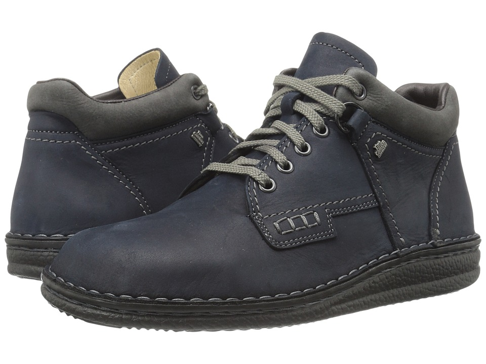 Finn Comfort - Linz (Marine/Asphalt) Lace up casual Shoes