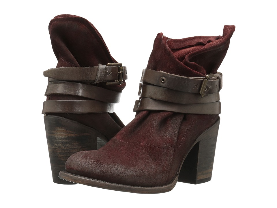 Freebird - Blaze (Wine Suede) Women's Zip Boots