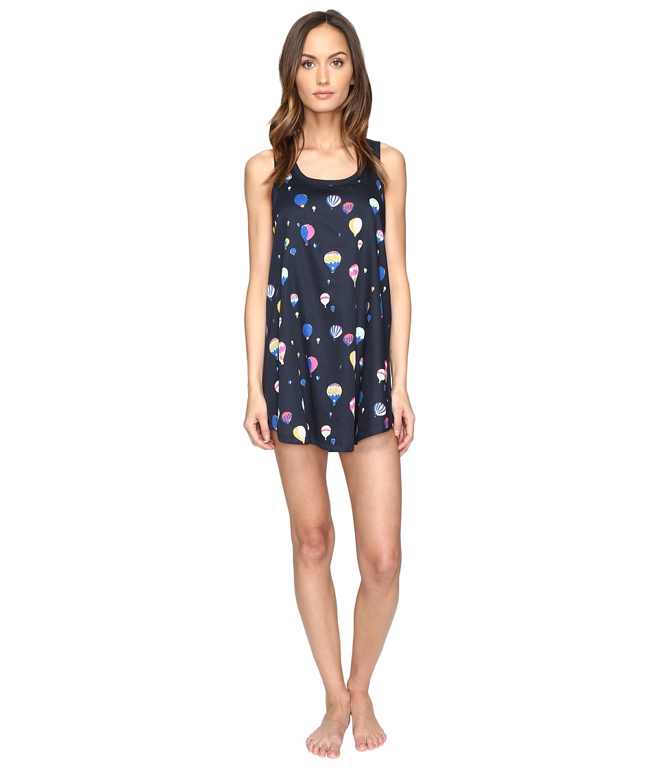 Kate Spade New York - Cotton Sateen Cotton Modal Chemise (Balloon Party) Women's Pajama