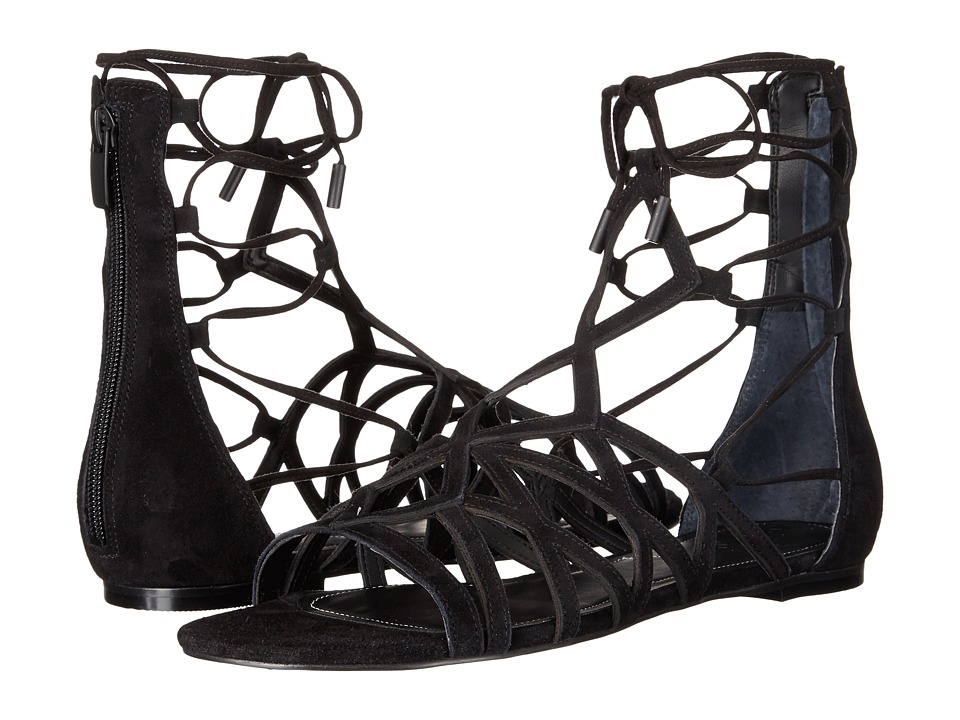 KENDALL + KYLIE - Cody (Black Suede) Women's Sandals