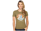 Life is Good Sail Boat Cool Tee