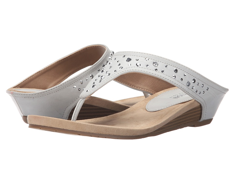Kenneth Cole Reaction - Great Leap 2 (Light Grey) Women's Sandals