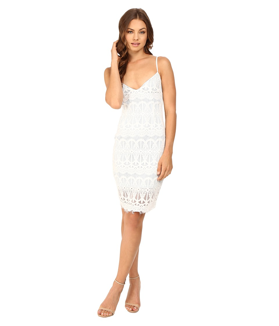 Brigitte Bailey - Malia Backless Lace Dress (Off-White) Women's Dress