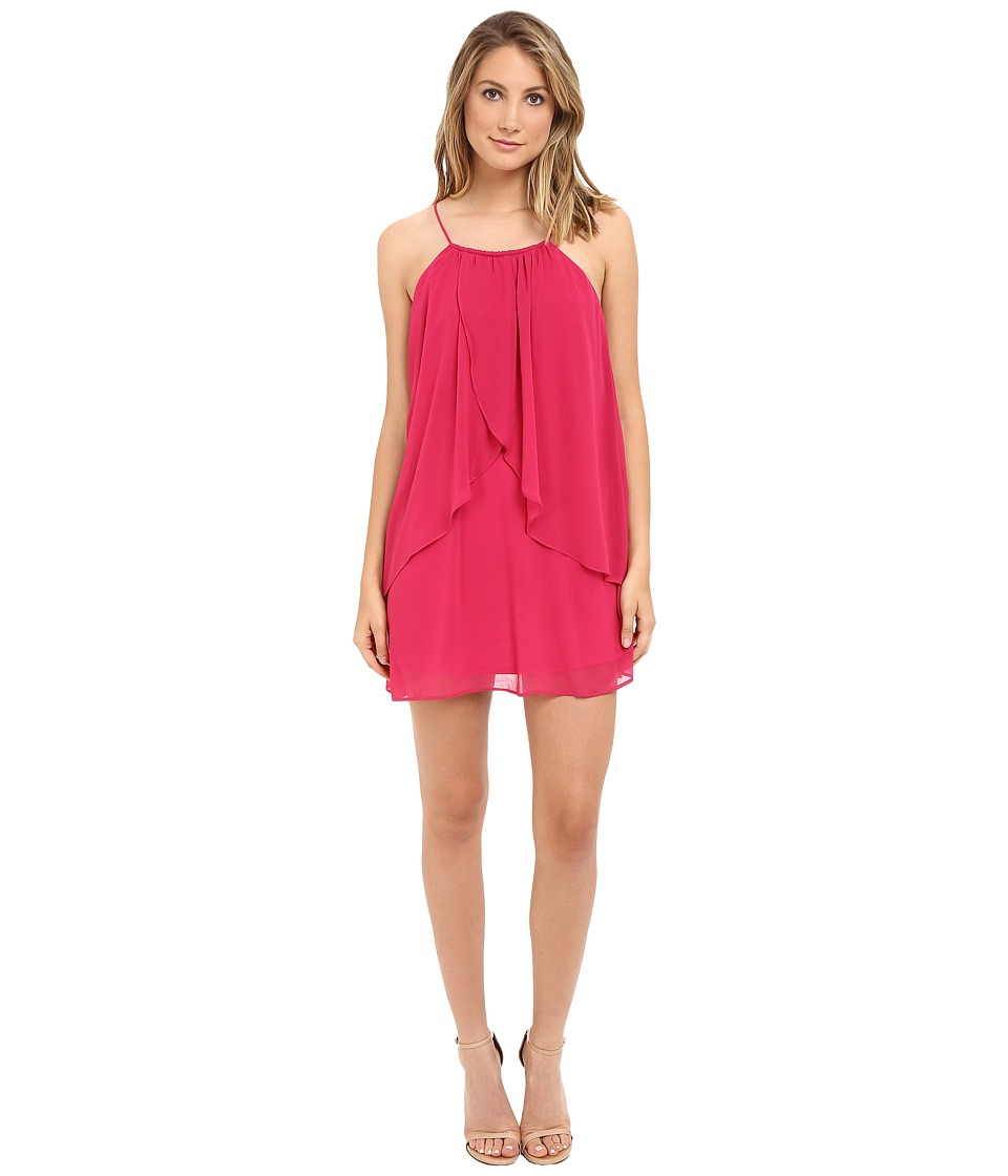 Brigitte Bailey - Noelie Ruffle Cami Dress (Fuchsia) Women's Dress
