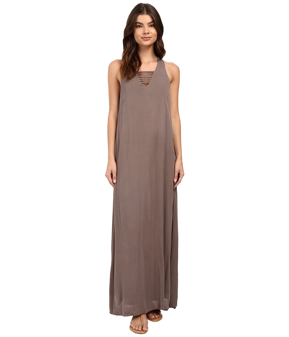 Brigitte Bailey - Merrigan Maxi Dress with Strap Detail (Olive) Women's Dress