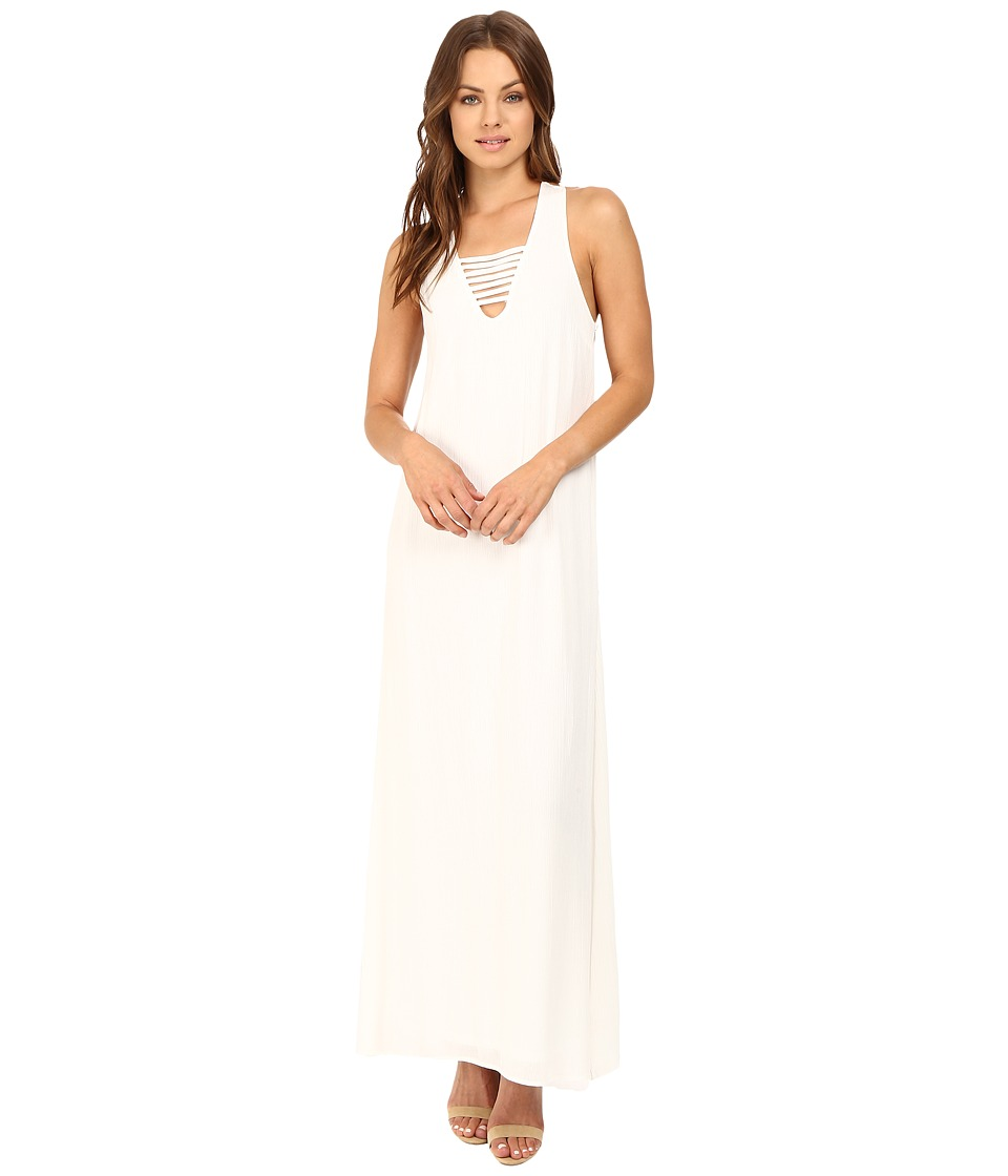 Brigitte Bailey - Merrigan Maxi Dress with Strap Detail (Off-White) Women's Dress