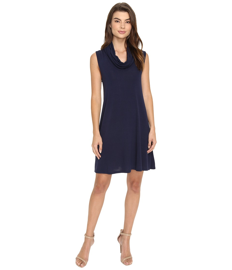 Brigitte Bailey - Toril Turtleneck Dress (Navy) Women's Dress