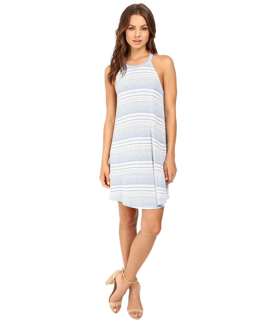 Brigitte Bailey - Damonica Striped Tank Dress (Blue) Women's Dress