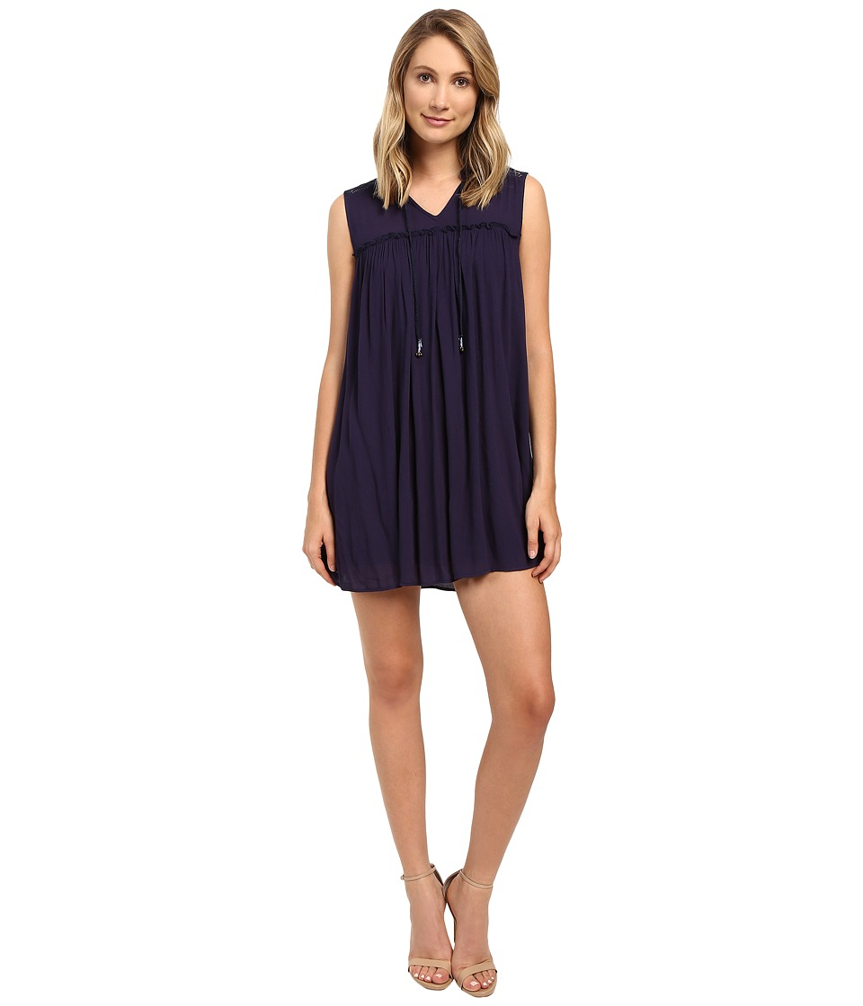 Brigitte Bailey - Lenore Boho Dress (Navy) Women's Dress