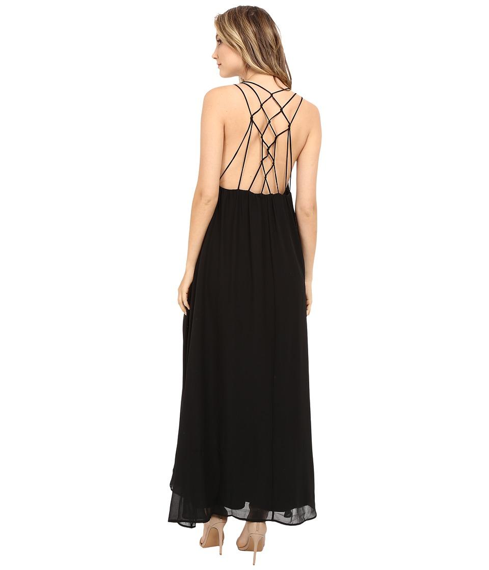 Brigitte Bailey - Lilibeth Cami Maxi Dress (Black) Women's Dress