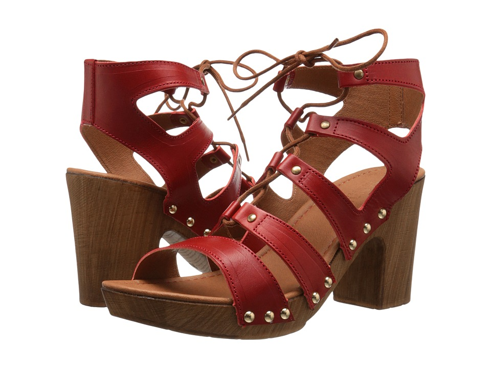 Kenneth Cole Reaction Log Fire (Lipstick Red) High Heels