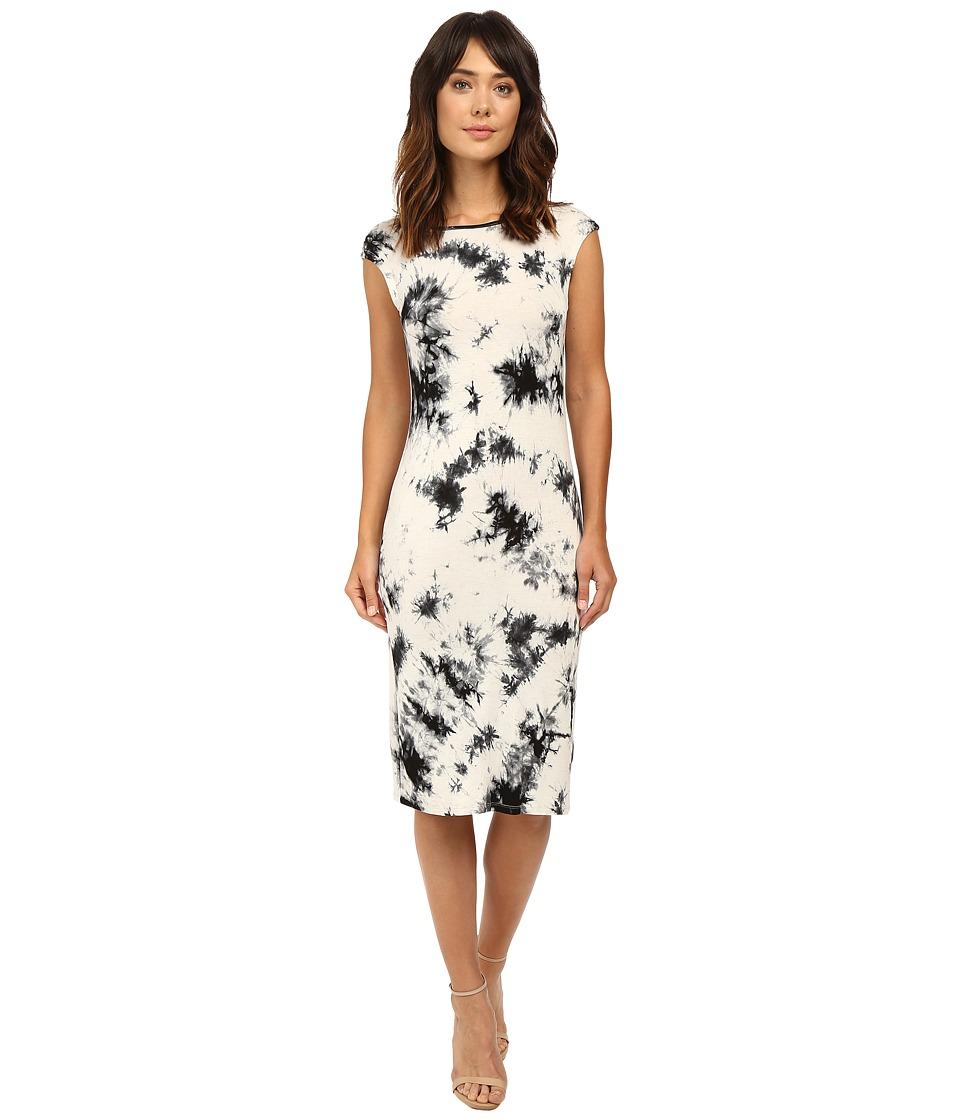 Brigitte Bailey - Isolde Short Sleeve Dress (Ivory) Women's Dress