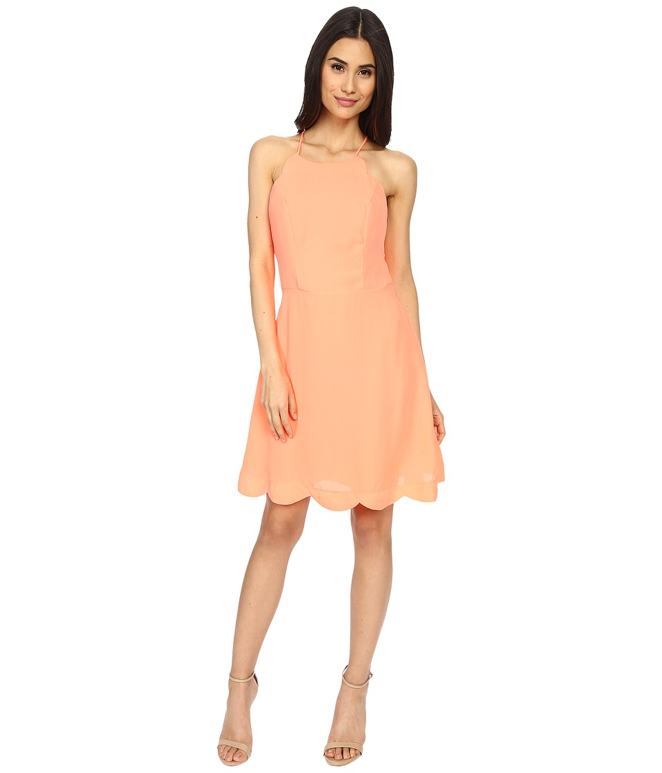 Brigitte Bailey - Rafaella Cami Dress (Neon Coral) Women's Dress