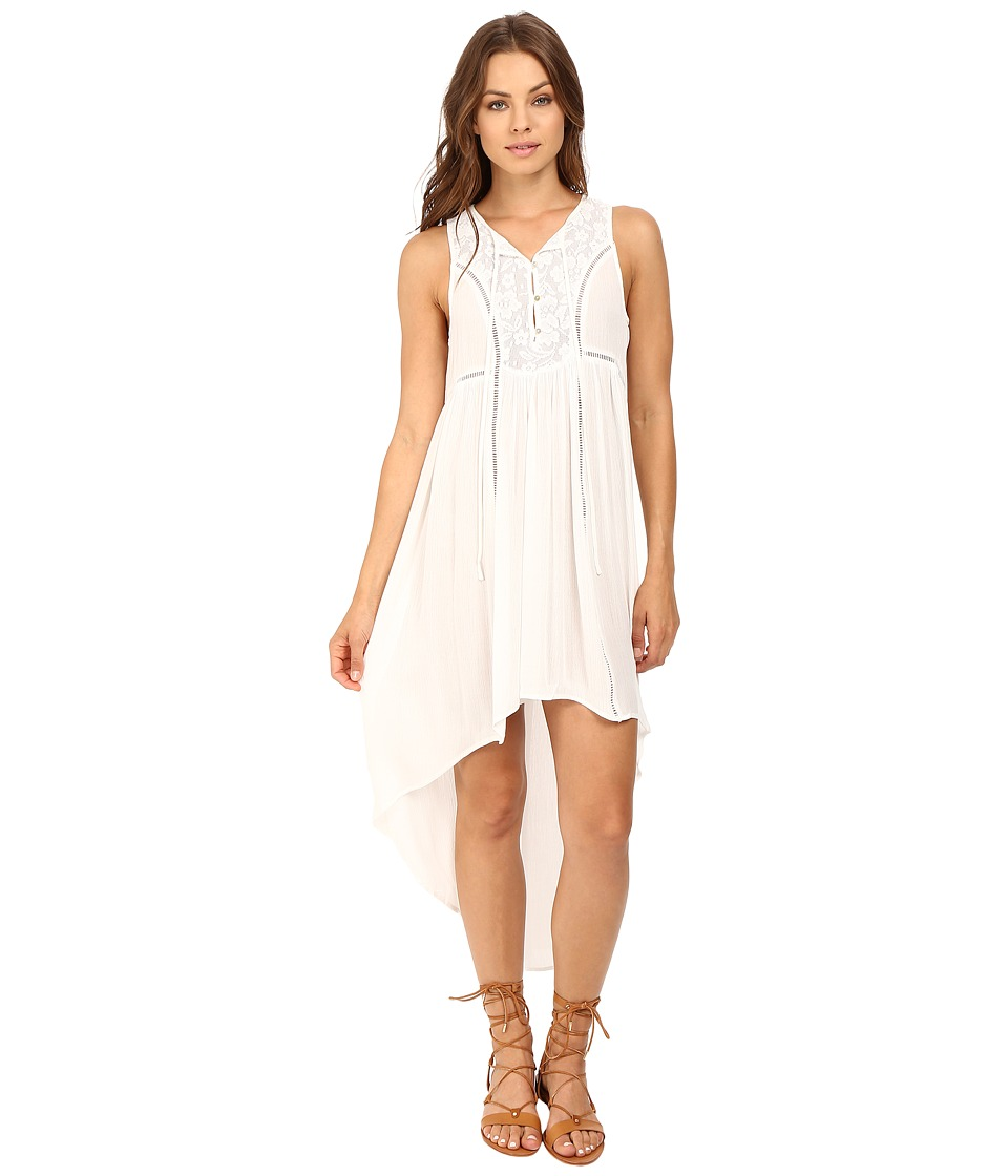 Brigitte Bailey - Ottavia Sleeveless Dress (White) Women's Dress