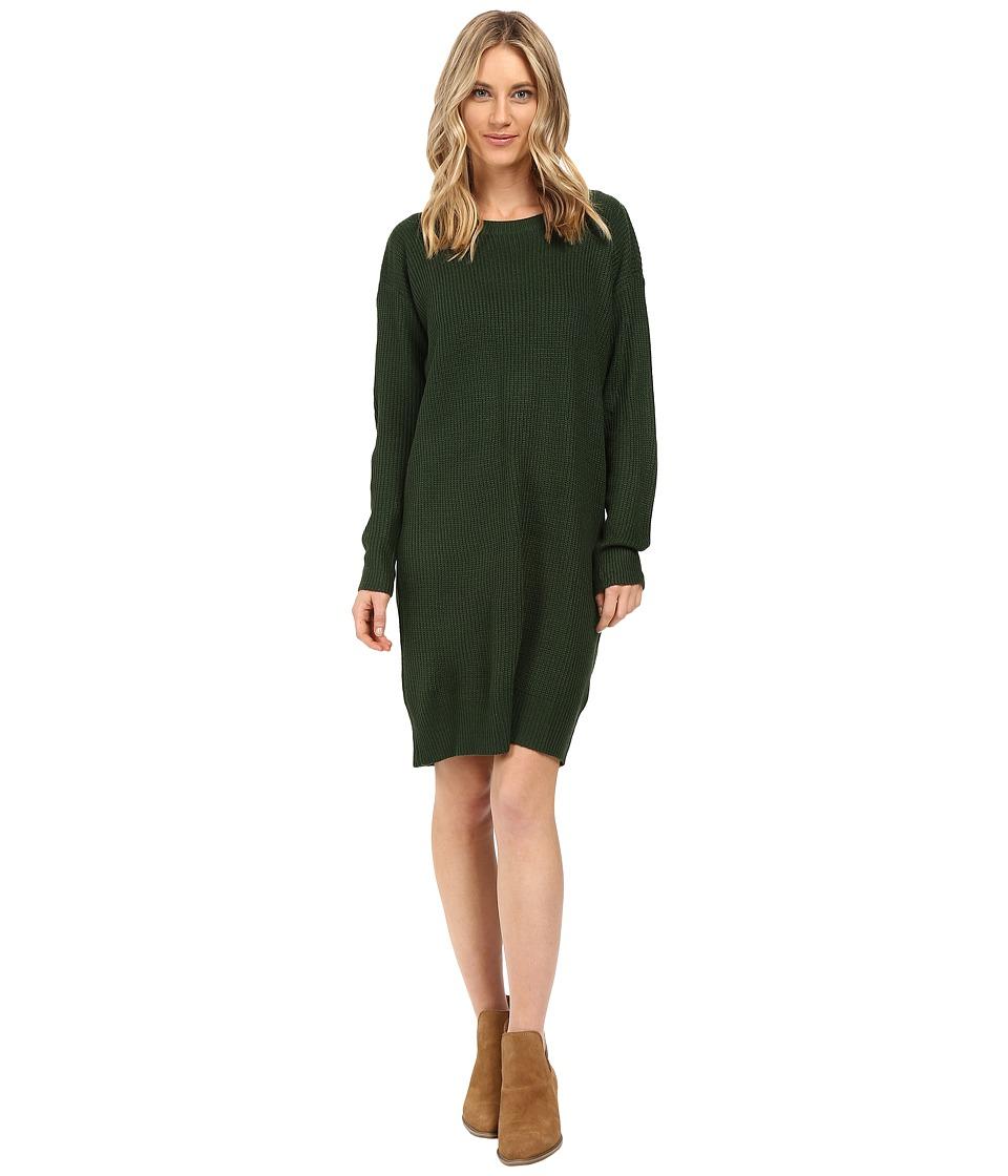 Brigitte Bailey Amaia Sweater Dress (Hunter Green) Women