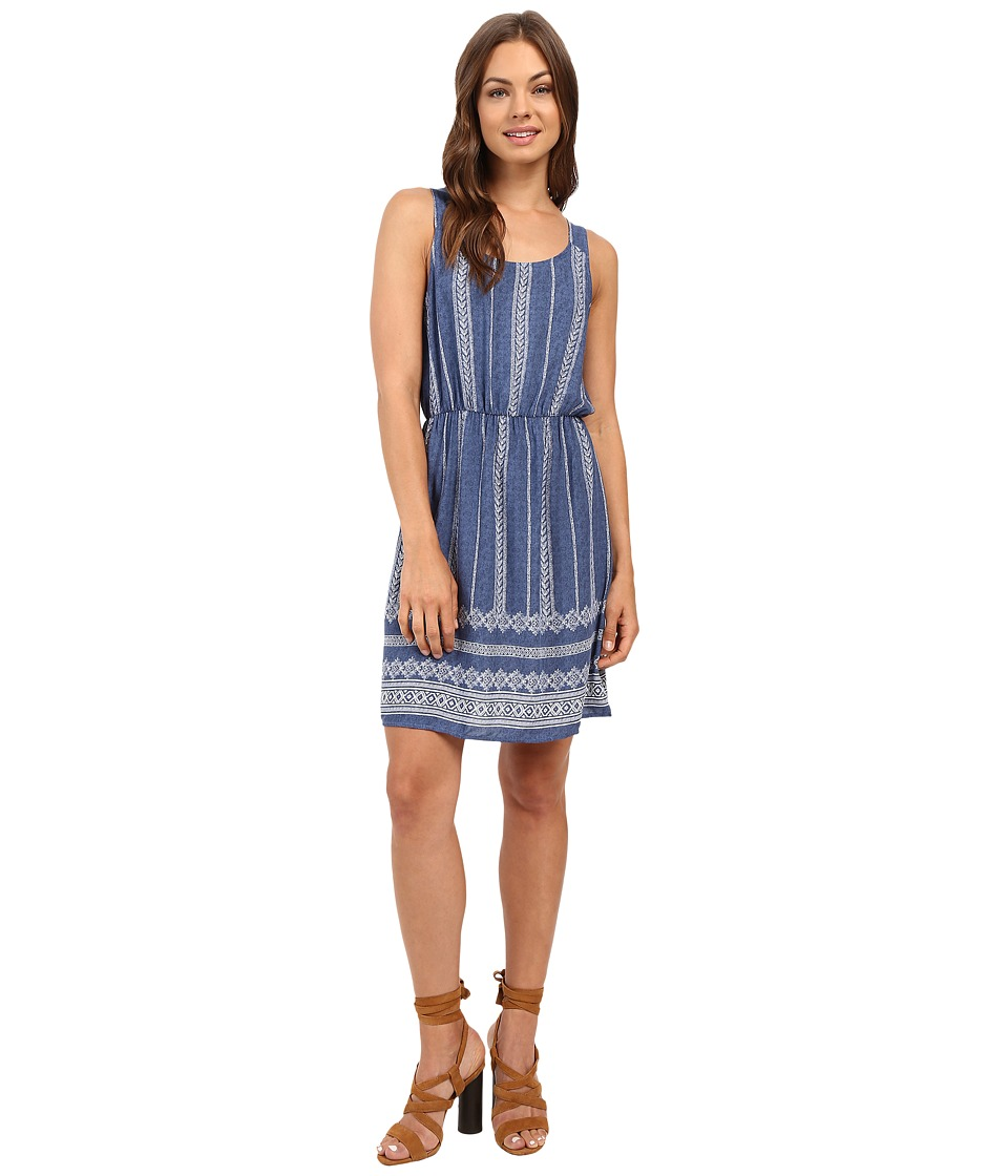 Brigitte Bailey - Katrita Sleeveless Denim Dress (Denim Blue) Women's Dress