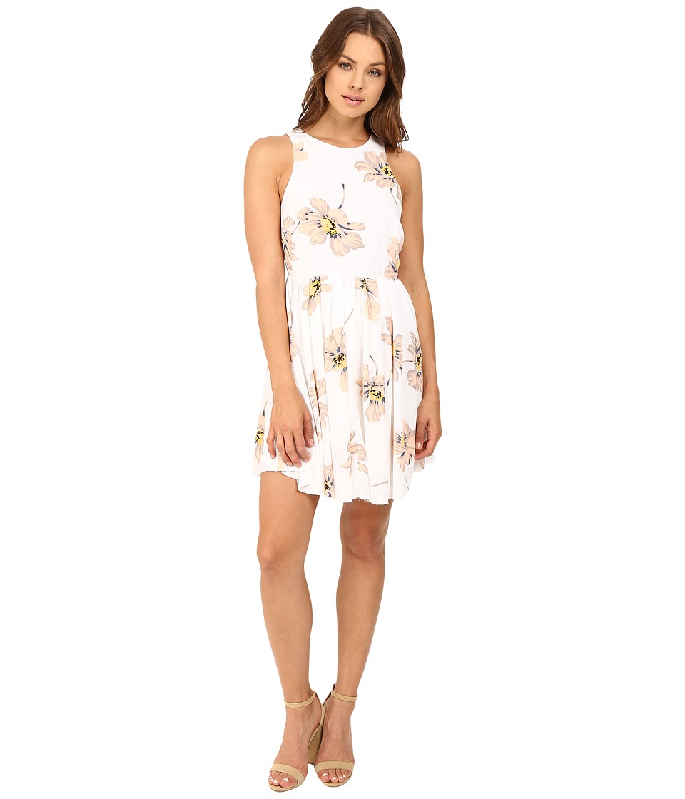 Brigitte Bailey - Nadya Sleeveless Dress (Off-White/Blush) Women's Dress