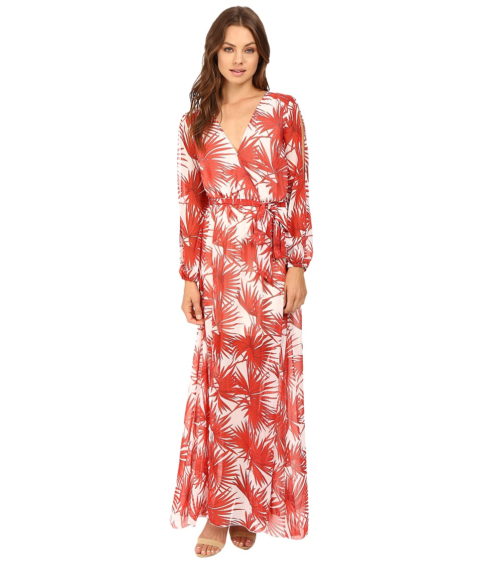Brigitte Bailey - Sarita Maxi Dress (Cream/Coral) Women's Dress
