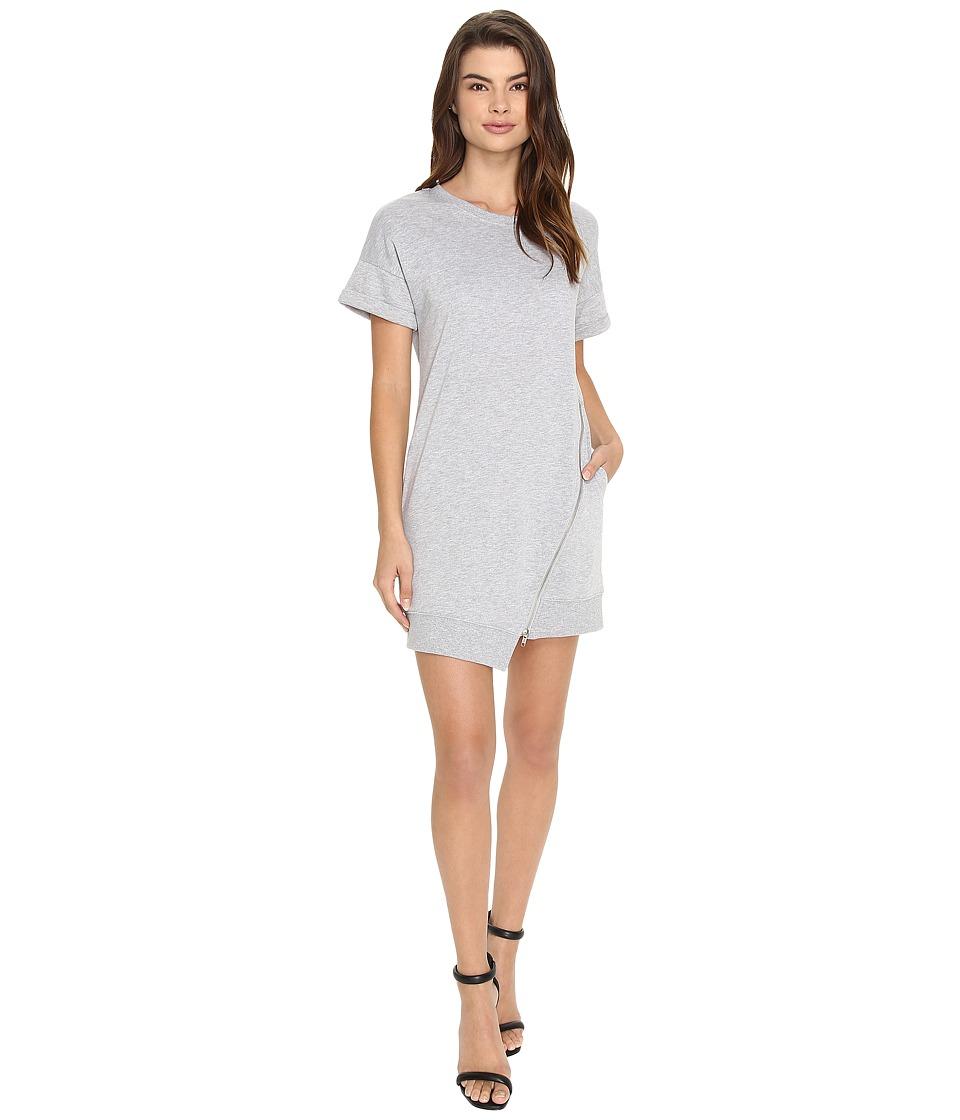 Brigitte Bailey - Eliana Short Sleeve Dress (Heather Grey) Women's Dress