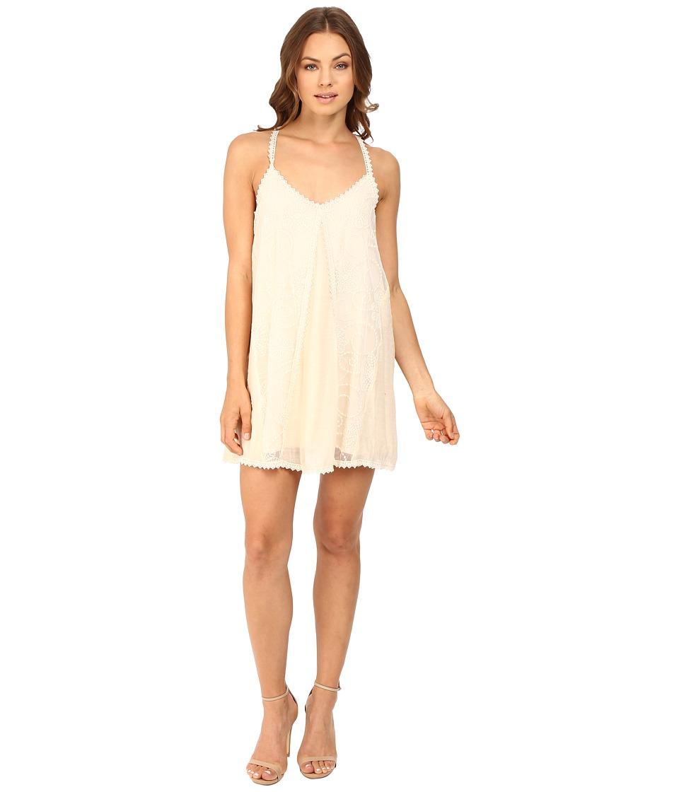 Brigitte Bailey - Violetta Boho Cami Dress (Light Beige) Women's Dress