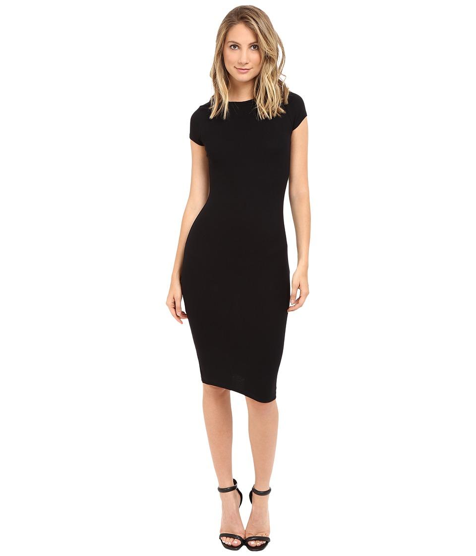 Brigitte Bailey - Maryana Short Sleeve Dress (Black) Women's Dress