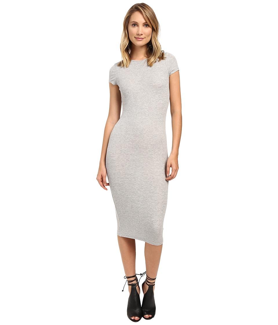 Brigitte Bailey - Maryana Short Sleeve Dress (Heather Grey) Women's Dress
