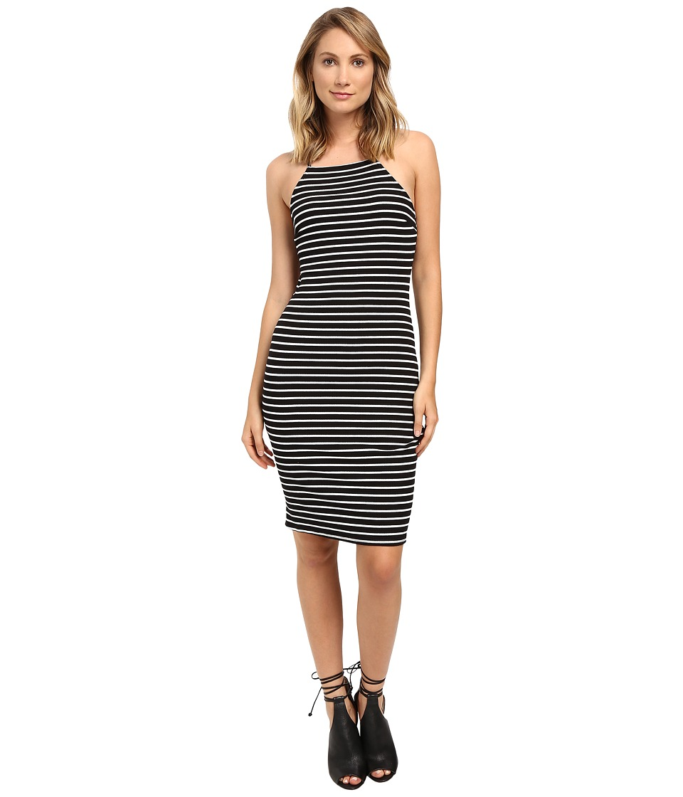 Brigitte Bailey - Jacinta Sleeveless Dress (Black/White) Women's Dress