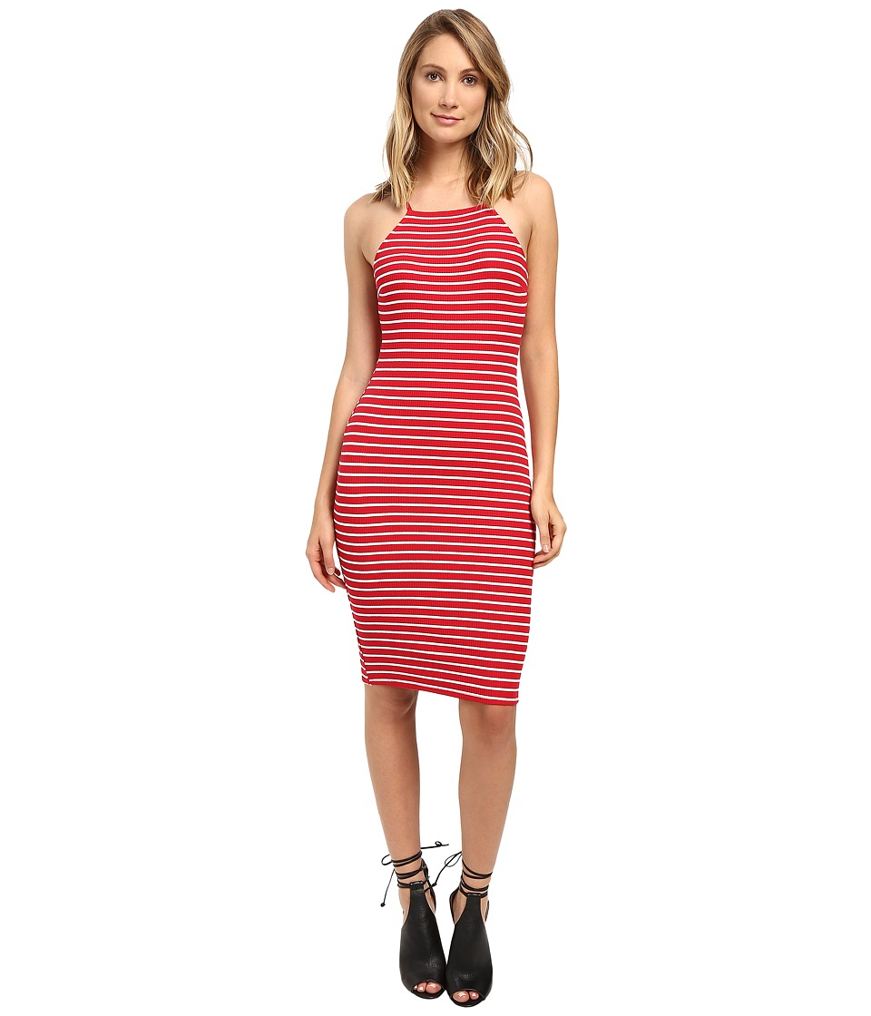 Brigitte Bailey - Jacinta Sleeveless Dress (Red/White) Women's Dress