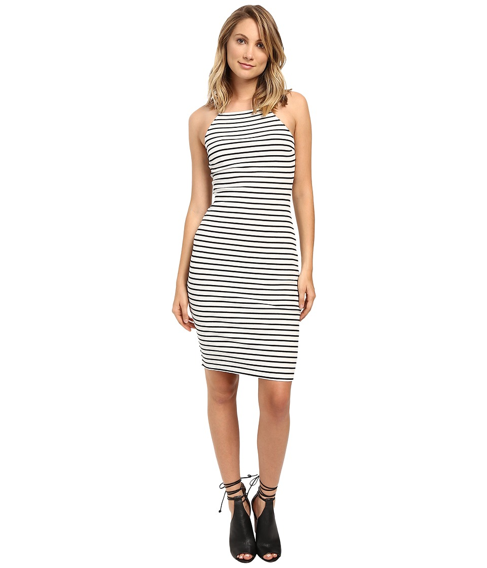 Brigitte Bailey - Jacinta Sleeveless Dress (White/Black) Women's Dress