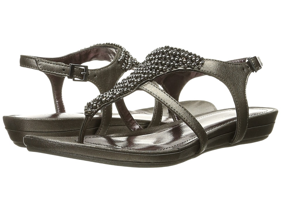 Kenneth Cole Reaction - Lost the Way (Gunmetal) Women's Dress Sandals