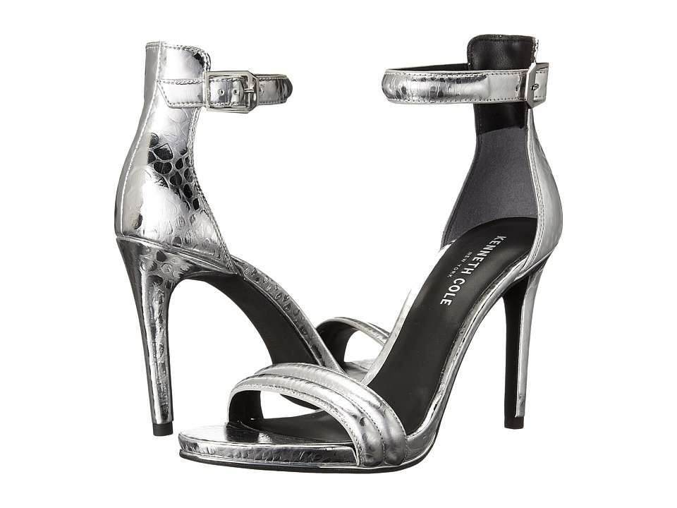 Kenneth Cole New York Brooke (Silver Snake) High Heels