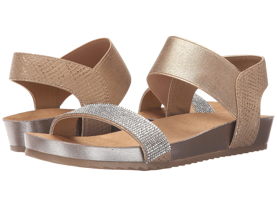 Kenneth Cole Reaction - Surf Turf 2 (Soft Gold) Women's Sandals
