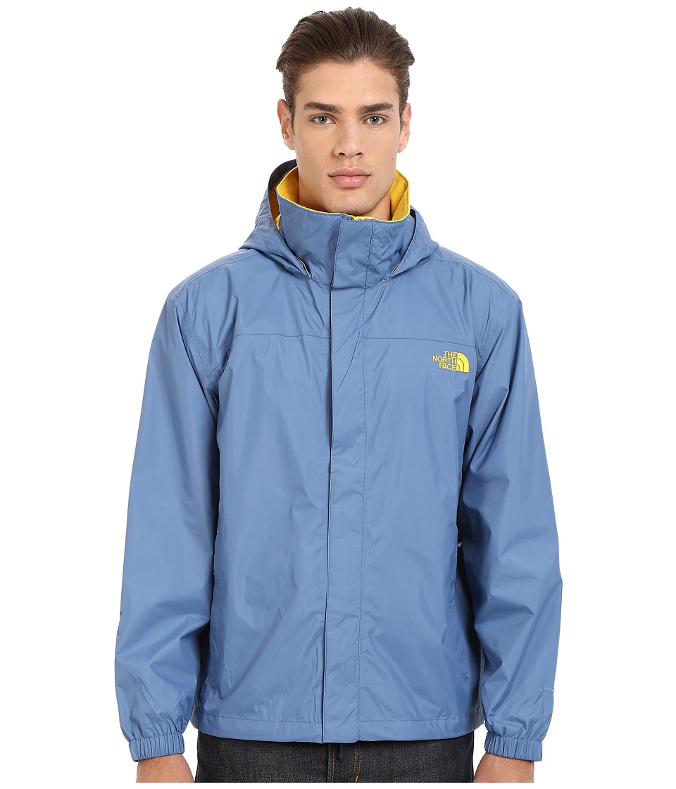 The North Face - Resolve Jacket (Moonlight Blue/Freesia Yellow) Men's Sweatshirt