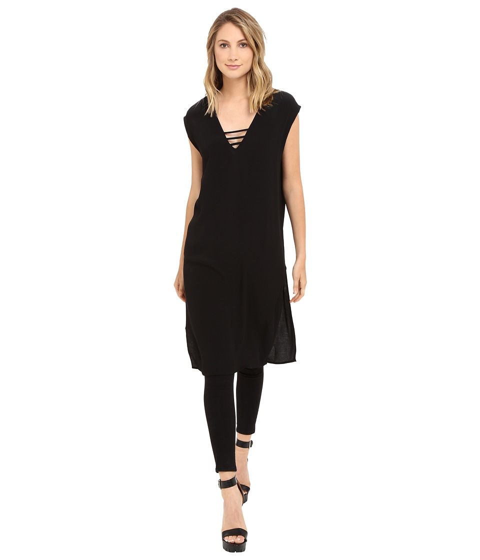 Brigitte Bailey - Sidra Sleeveless Top (Black) Women's Sleeveless