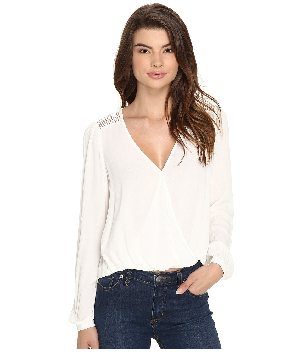 Brigitte Bailey - Eletta Long Sleeve Top (Off-White) Women's Clothing