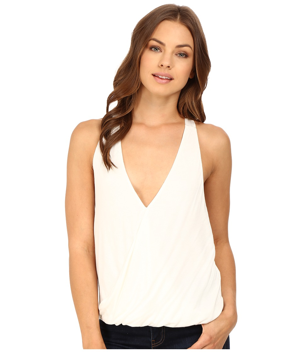 Brigitte Bailey - Luiza Halter Wrap Top (Off-White) Women's Clothing