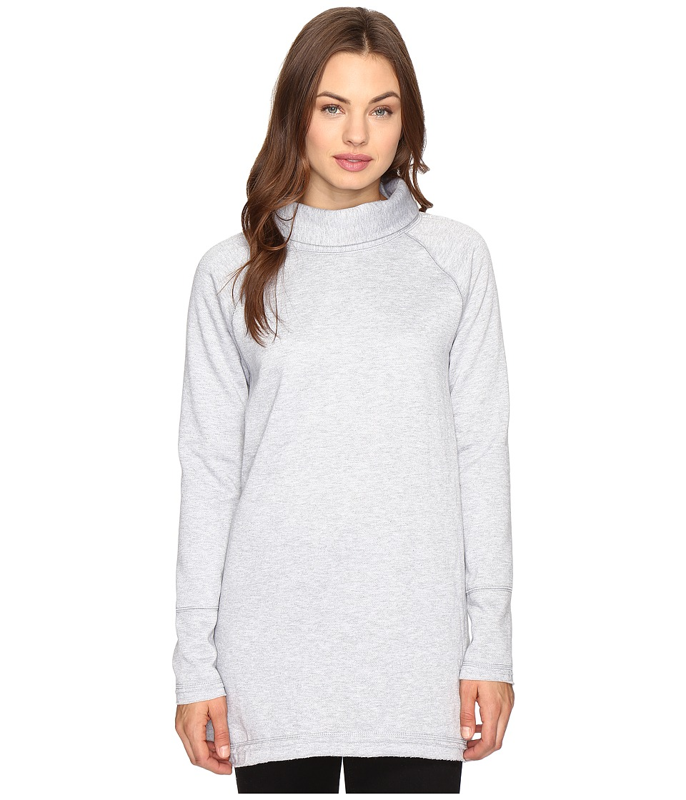 Brigitte Bailey - Estrella Long Sleeve Top (Heather Grey) Women's Clothing