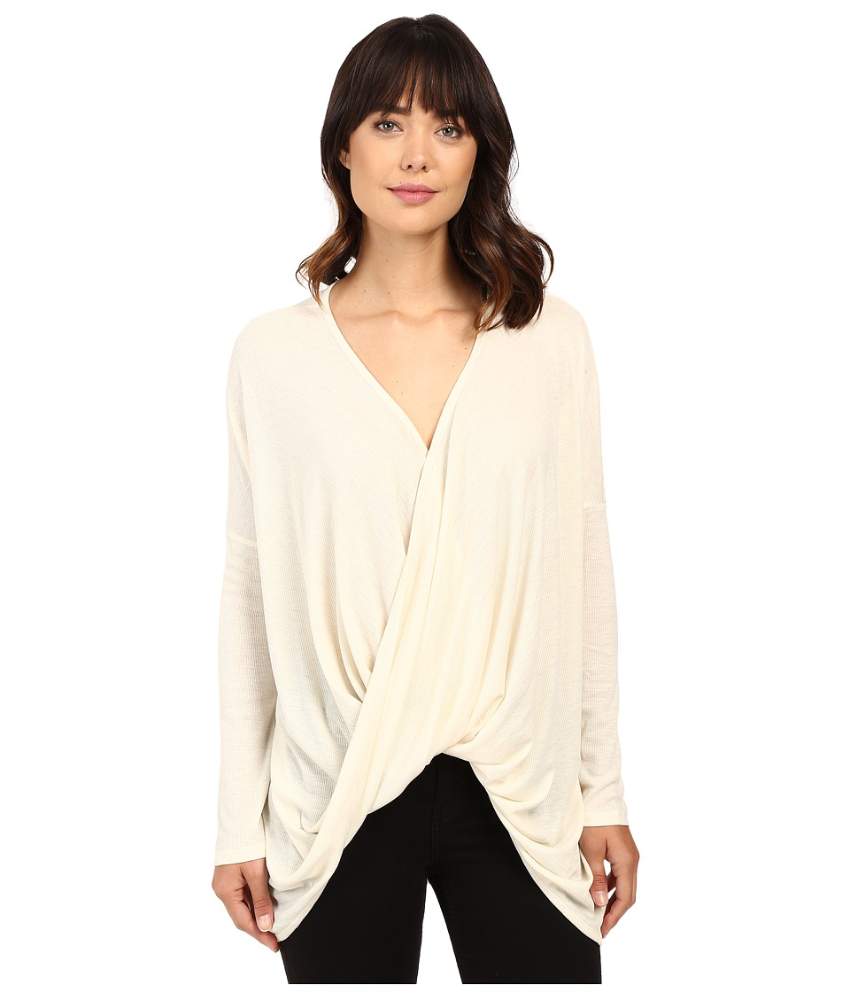 Brigitte Bailey - Sinead Long Sleeve Top (Cream) Women's Clothing