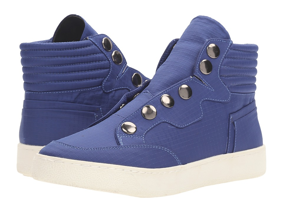 LFL by Lust For Life - Roar (Blue Fabric) Women's Slip on Shoes