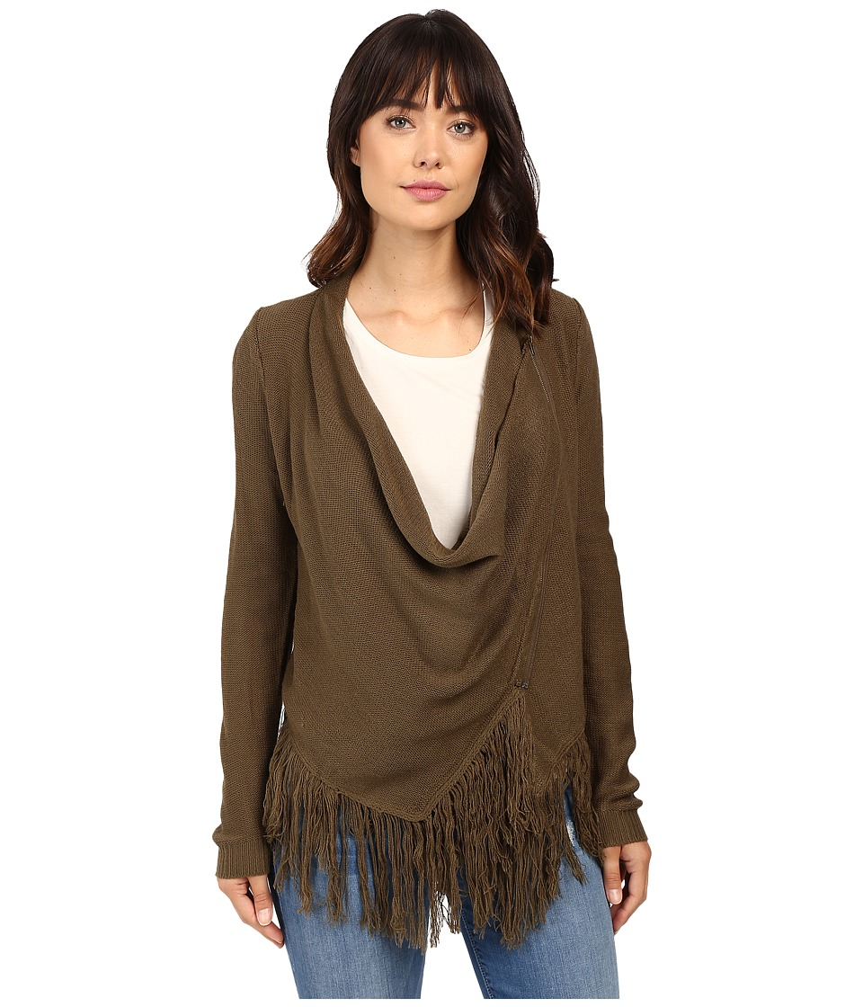 Brigitte Bailey - Pippa Cardigan Sweater (Olive) Women's Sweater