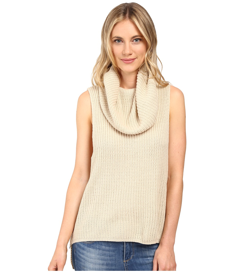 Brigitte Bailey - Una Sleeveless Sweater (Sand) Women's Sweater