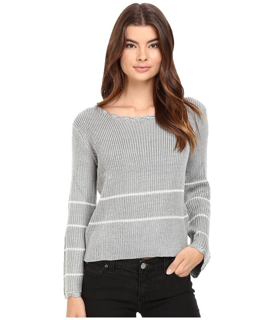 Brigitte Bailey Vita Pullover Sweater (Grey) Women