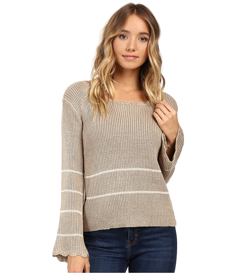 Brigitte Bailey - Vita Pullover Sweater (Taupe) Women's Sweater