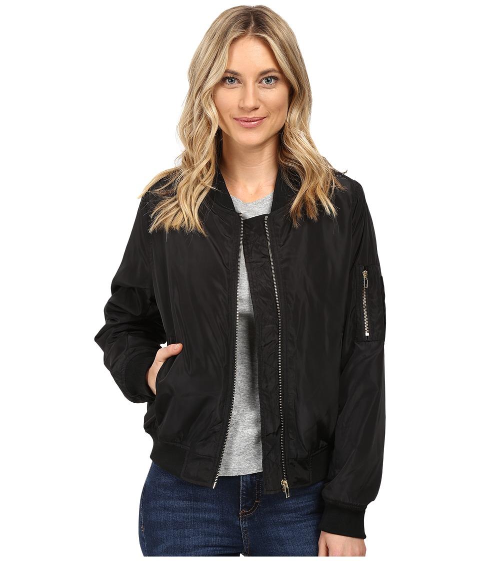 Brigitte Bailey - Antonella Bomber Jacket (Black) Women's Coat