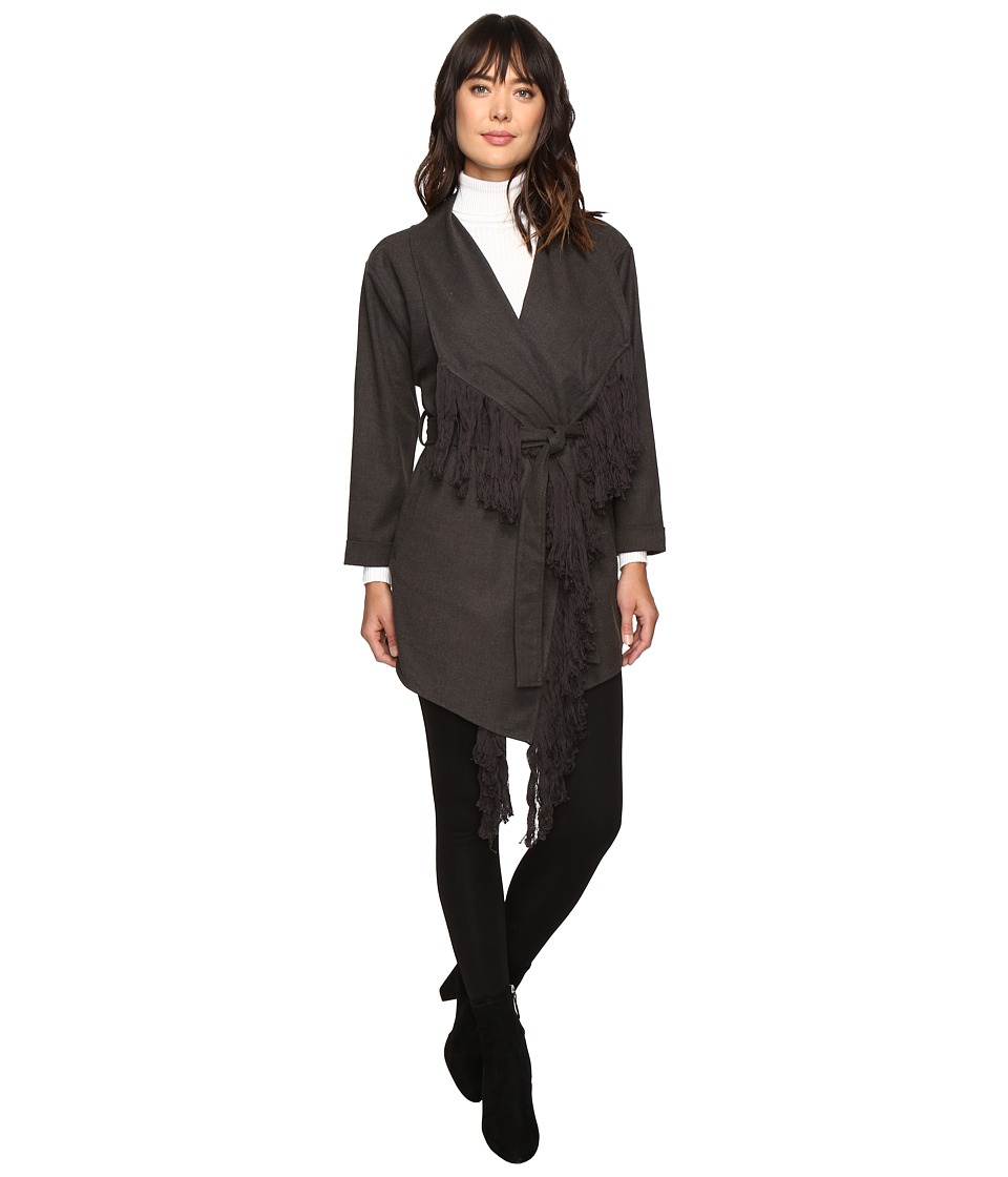 Brigitte Bailey - Maeve Coat (Charcoal) Women's Coat