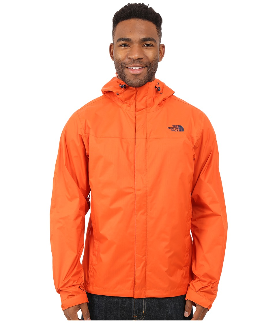 The North Face - Venture Jacket (Papaya Orange/Papaya Orange) Men's Jacket