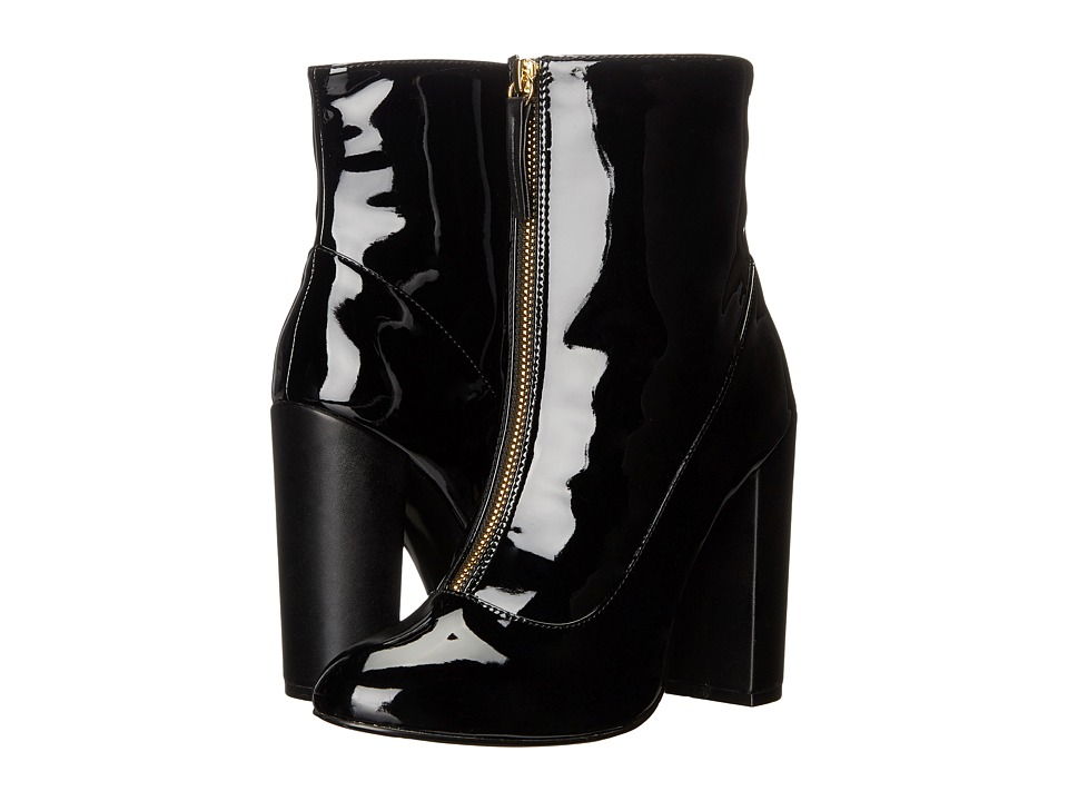 LFL by Lust For Life - Mod (Black Patent) Women's Zip Boots