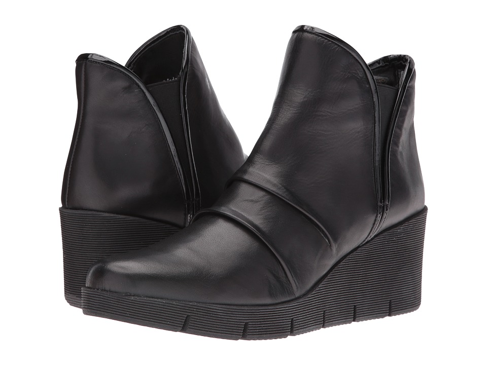 The FLEXX - Spaceless (Black Cashmere/Lapo) Women's Wedge Shoes